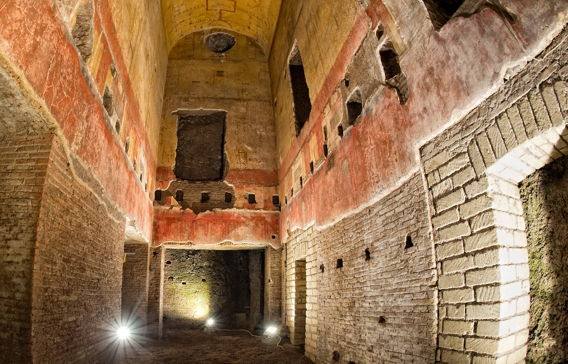 Italy - online ticket reservation for the Domus Aurea