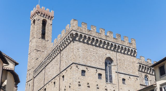 An image of the Bargello, Florence