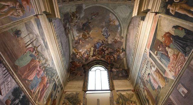An image of the Brancacci Chapel, Florence