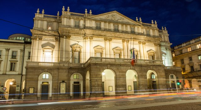 An image of Milan's La Scala Opera House