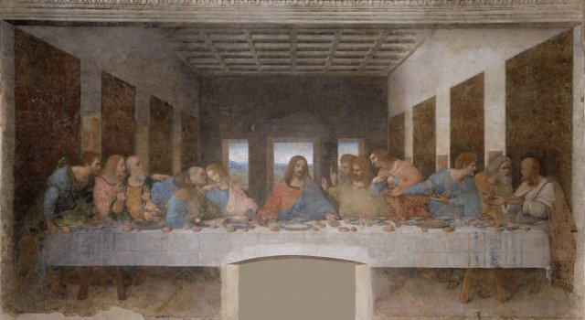 An image of Leonardo's Last Supper, Milan