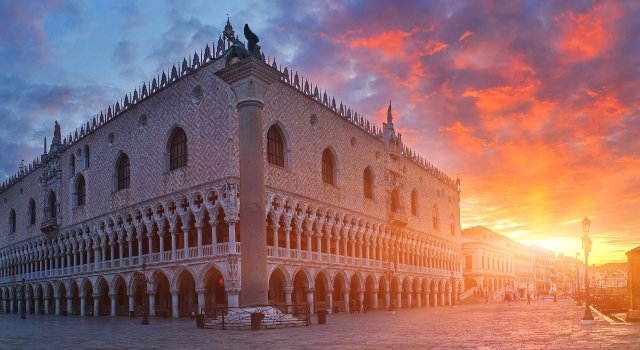 An image of the Palazzo Ducale - Doge's Palace, Venice