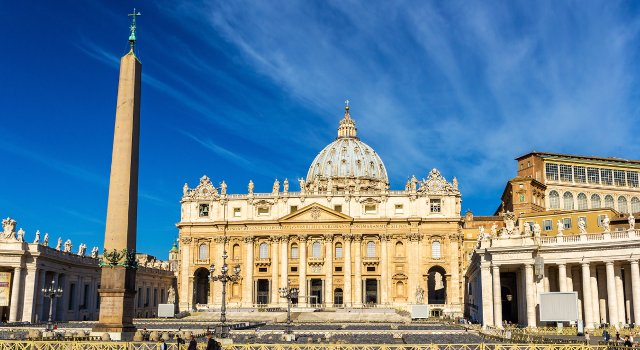 An image of St Peter's Basilica