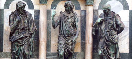 Bronzes at the Florence Baptistery, Giovanfrancesco Rustici