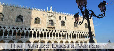 The Palazzo Ducale - Doge's Palace - Venice, Italy