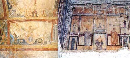 Images from the Domus Aurea, Rome