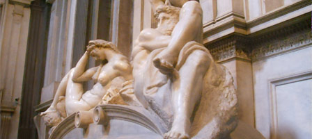 An image from the Medici Chapels, Florence