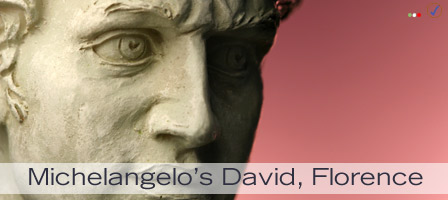 Michelangelo's statue of David, Florence, Italy