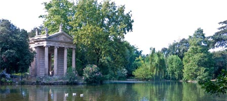 Gardens of the Borghese Gallery, Rome