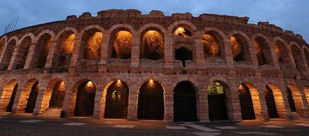 Verona Opera Festival seating plan.