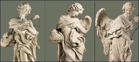 Bernini sculpture restoration project at the Vatican