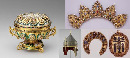 Pitti Palace exhibition, treasures of the Kremlin