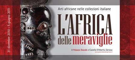 Genoa, African art exhibition 2011