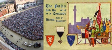 Images from the Palio, Siena, Italy