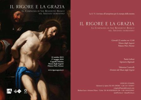 Florence, Pitti Palace exhibition – 'Il rigore e la grazia'