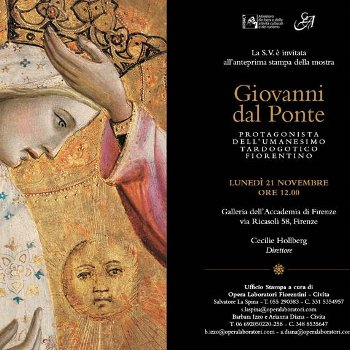 Florence exhibition, Giovanni dal Ponte at the Accademia