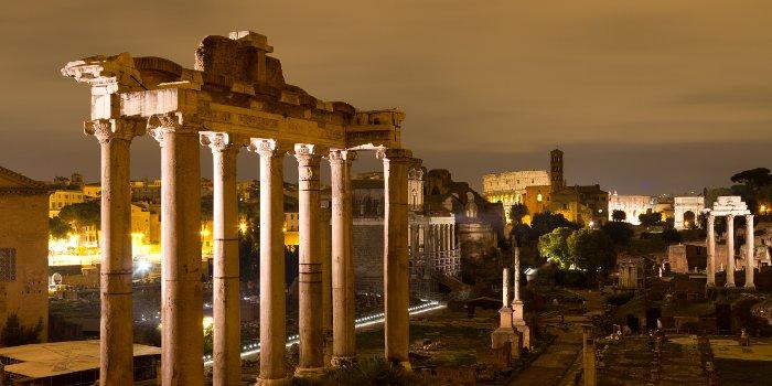 Roman Forum After Dark, Tours 2017