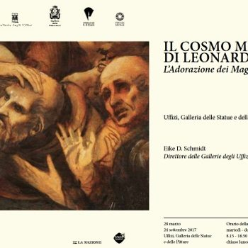 Da Vinci's Adoration of the Magi at the Uffizi Gallery