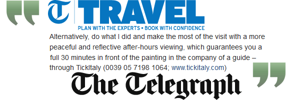Da Vinci's Last Supper - review of our tour in the UK Daily Telegraph
