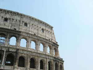 An image of the Colosseum