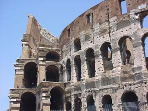 An image of the Colosseum, Rome