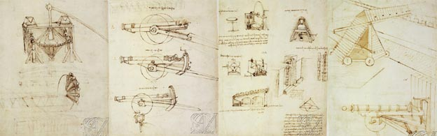 Designs by Leonardo da Vinci