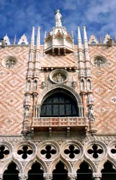An image of the Ducal Palace, Venice