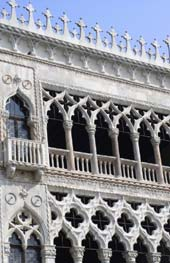 Venice - detail of the Doge's Palace