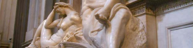 Florence, Italy - an image from the Medici Chapel - Michelangelo
