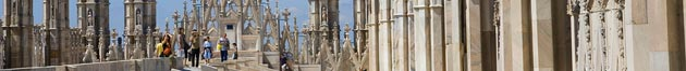 Milan, Italy - an image from cathedral (duomo)
