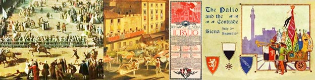 Historical images of the Siena Palio