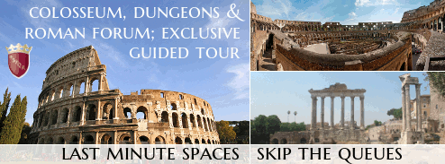 Colosseum, Dungeons and Roman Forum - Last minute exclusive guided tour.