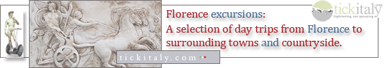 Excursions and day trips from Florence, Italy - graphic header