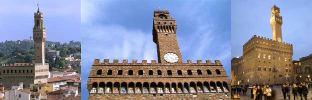 Photographs of the Palazzo Vecchio, Florence