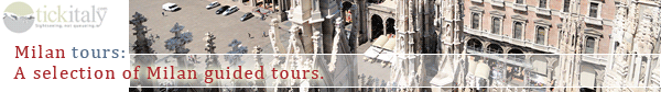 Guided tours of Milan, Italy