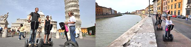 Segway tour of Pisa