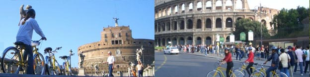Bicycle tour of Rome