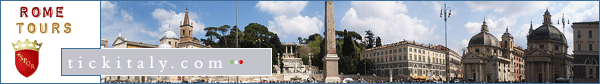 Guided tours of Rome, Italy - graphic header